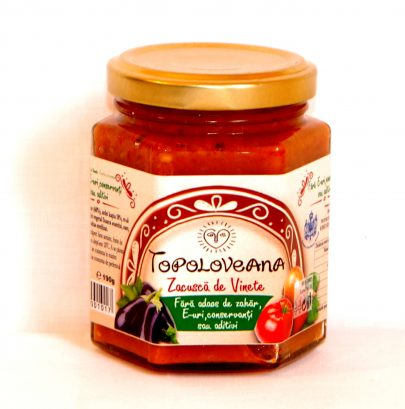 TOPOLOVEANA - Eggplants spread - 190gr