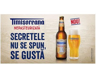 TIMISOREANA- Blond beer unpasteurized - 500ml