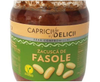 Capricii si delicii zacusca de fasole - 500g -  roumanie romania rumanien rumeno rumana