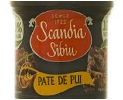Scandia Sibiu - Chiken liver mat pie - 120gr