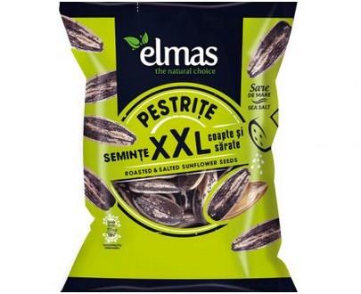 Graines de tournesol salées - apéritif - Seminte pestrite - ELMAS - 200gr