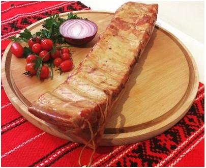Cote de porc fumée - Costita de porc afumata - Jina Transalpina Carn - 1kg