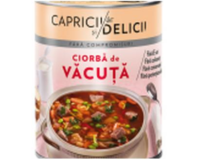 capricii si delicii - Beef soup - 400gr
