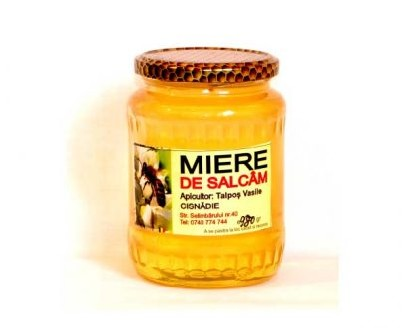Honey from Acacia flower producted in Cisnadie by Talpoş Vasile 1Kg