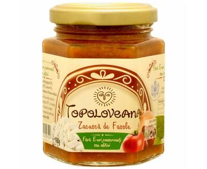 Zacusca de légumes aux haricots - Topoloveana - 190g