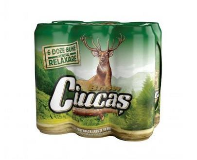 Bière blonde Ciucas - 6x500ml - 6 pack