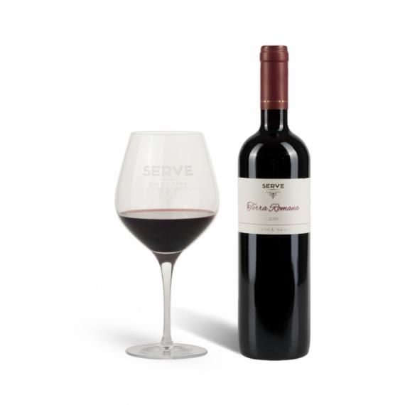 vin serve feteasca neagra terra romana 2016 750ml - central transylvania - romanian wine - vin romanesc-vin roumain - rumänischer wein