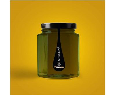 Miel à la Spiruline - Zumm - 250 g