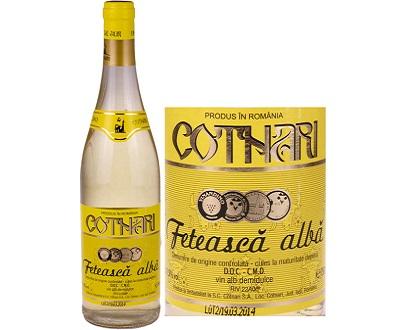vin blanc cotnari feteasca alba 750ml