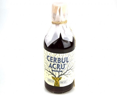 Vinaigre naturel cassis otet coacaze cerbul acru