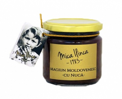 Magiun moldave de prunes et noix magiun moldovenesc mica ilinca prune si nuca noix 220g