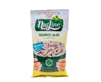 seminte albe usor sarate nutline 100g graines tournesol