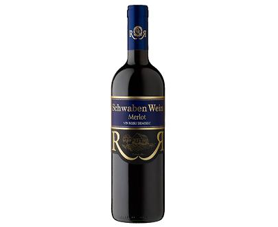 Vin rouge schwaben wein merlot demi sec recas 750ml