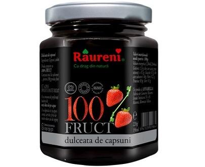 Confiture de fraise sans sucre ajouté