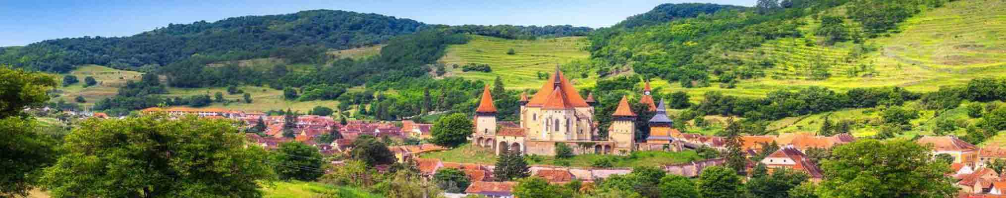Transilvania Sibiu judet romania central transylvania fortified church