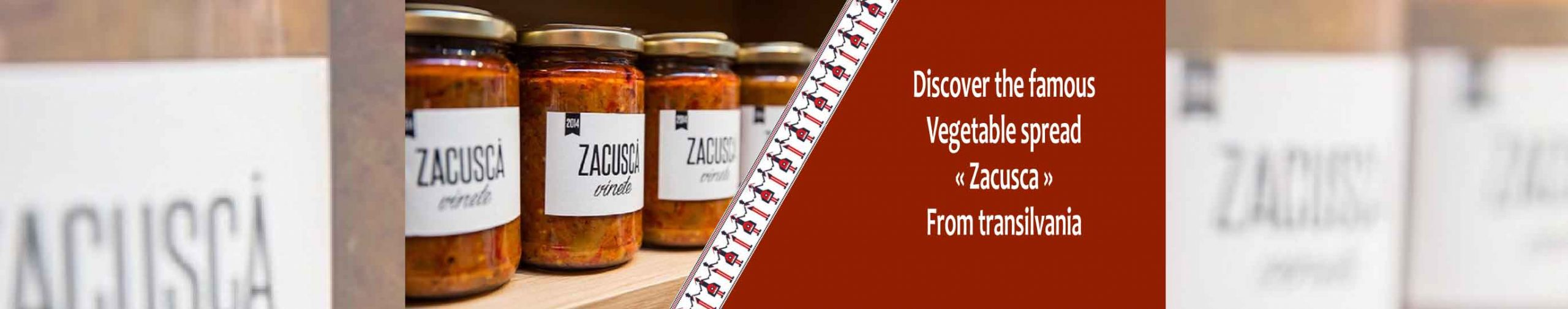 discover traditional vegetable spread zacusca from transilvania