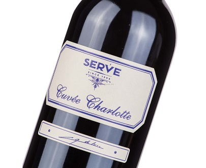Cuvee charlotte 2012 SERVE vin roouge roumain romanian red wine